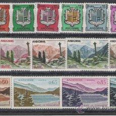 Sellos: IMPRESIONANTE SERIE DE ANDORRA FRANCESA Nº 164/180 NUEVA PERFECTA. Lote 50359638
