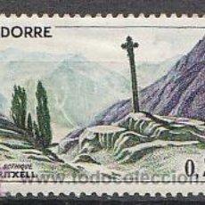 Sellos: ANDORRA FRANCESA EDIFIL Nº 172, CRUZ GOTICA DE MERITXELL, NUEVO CON CHARNELA. Lote 19405595