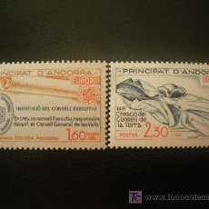 Sellos: ANDORRA FRANCESA 1982 IVERT 300/1 *** EUROPA - HECHOS HISTÓRICOS. Lote 20232714