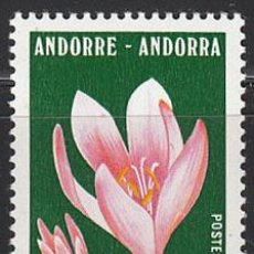 Sellos: ANDORRA FRANCESA EDIFIL Nº 268, PROTECCIÓN DE LA NATURALEZA: CÓLCHICO, NUEVO. Lote 20323884