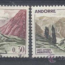 Sellos: ANDORRA FRANCESA, 1961-71, YVERT TELLIER 161(NUEVO) , 159 (USADO). Lote 21362523