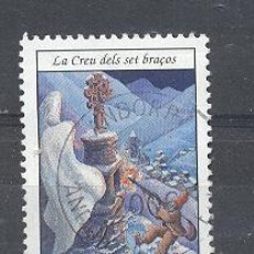 Sellos: ANDORRA FRANCESA, 2002, LEYENDAS ANDORRANAS. Lote 21363101