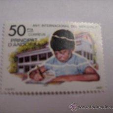 Sellos: ANDORRA NUEVO SIN CHARNELA EDIFIL 143. Lote 130056736