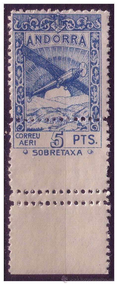 ANDORRA ESPAÑOLA 1932 PAISAJES EDIFIL Nº NE24DDH + DX * * VARIEDADES (Sellos - Extranjero - Europa - Andorra)