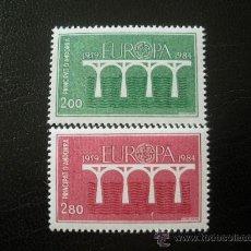 Sellos: ANDORRA FRANCESA 1984 IVERT 329/30 *** EUROPA. Lote 24172102