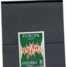 Sellos: ANDORRA CORREO ESPAÑOL 1972 EDIFIL Nº 72 ** TEMA EUROPA.. Lote 24530765