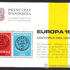Sellos: ** ANDORRA VEGUERIA EPISCOPAL EUROPA HISTORIA DEL CORREO 1979. Lote 26541064
