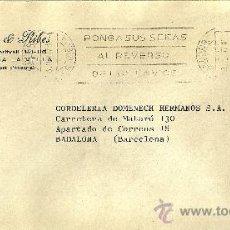 Sellos: SOBRE CIRCULADO DE ANDORRA CON 1 SELLOS Y MATASELLOS DE ANDORRA LA VELLA - 1974. Lote 27220004