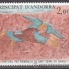 Sellos: ANDORRA FRANCESA EDIFIL 311, FESCO DE LA IGLESIA DE SAN CERNI DE NAGOL (PREROMANICO), NUEVO. Lote 27788572