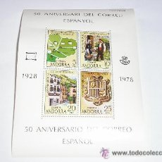 Sellos: 50 ANIVERSARIO DEL CORREO ESPAÑOL 1928 1978. Lote 28154503