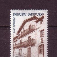 Sellos: ANDORRA 326*** - AÑO 1983 - ARQUITECTURA DE ANDORRA - CASA PLANDOLIT. Lote 28357665