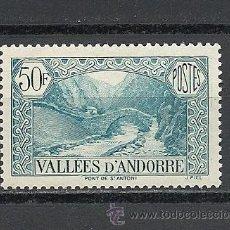 Sellos: ANDORRA 1937-43, YVERT Nº 92**, PAISAJES.. Lote 28621232