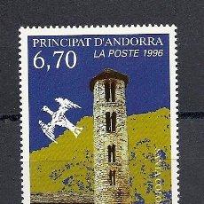 Sellos: ANDORRA CORREO FRANCES 1996, ANFIL Nº 483**, SANTA COLOMA. Lote 30077761