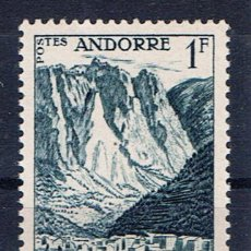 Sellos: ANDORRA FRANCESA LES ESCALDES 1955 EDIFIL 142 NUEVO**. Lote 37717030