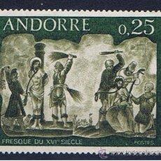 Sellos: ANDORRA FRANCESA 1968 EDIFIL 211 NUEVO**. Lote 32509069