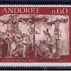 Sellos: ANDORRA FRANCESA 1968 EDIFIL 213 NUEVO**. Lote 32509084