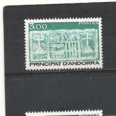Sellos: ANDORRA 1984, Nº 356/357**, ESCUDO PRIMITIVO DEL VALLE.. Lote 34566515