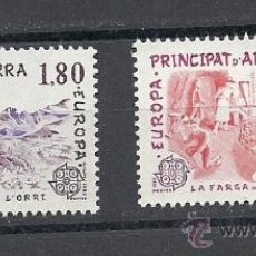 Sellos: ANDORRA 1983, EDIFIL Nº 334/335**, TEMATICA EUROPA.. Lote 34815170