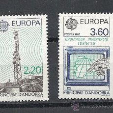 Sellos: ANDORRA 1988, ANFIL Nº 369/370**, EUROPA. Lote 35289299