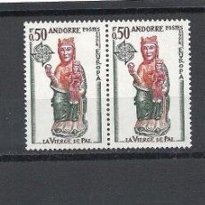 Sellos: ANDORRA 1974, ANFIL Nº 237/238**, EUROPA, ARTE, PAREJA. Lote 35363620