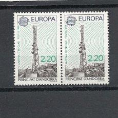 Sellos: ANDORRA 1988, ANFIL Nº 369/370**, EUROPA,PAREJA. Lote 35363652