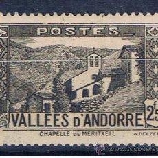Timbres: CAPELLA MERITXELL 1937 EDIFIL 88 NUEVO* VALOR 2013 CATALOGO 9.-- EUROS . Lote 37506238