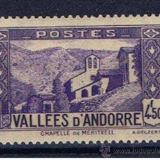 Timbres: CAPELLA DE MERITXELL 1937 EDIFIL 92 NUEVO* . Lote 37506361