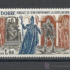 Sellos: ANDORRA 1963-64, ANFIL Nº 170**, HISTORIA DE ANDORRA. Lote 41460769