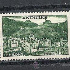 Timbres: ANDORRA 1955-58, YVERT Nº 151**, PAISAJES DE ANDORRA. Lote 41611644