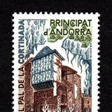 Sellos: ANDORRA 282** - AÑO 1980 - ARQUITECTURA - CASA PAL DE LA CORTINADA. Lote 43494822