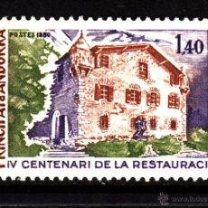 Sellos: ANDORRA 289** - AÑO 1980 - ARQUITECTURA - 4º CENTENARIO DE LA RESTAURACION DE LA CASA DEL VALLEES. Lote 43725320