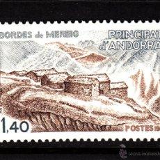 Sellos: ANDORRA 291** - AÑO 1981 - ARQUITECTURA - LOS BORDES DE MEREIG. Lote 43725331