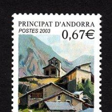 Sellos: ANDORRA 578** - AÑO 2003 - ARQUITECTURA - LES BONS. Lote 44364511