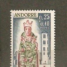 Sellos: ANDORRA FRANCESA YVERT NUM. 172 ** SERIE COMPLETA SIN FIJASELLOS. Lote 45427799