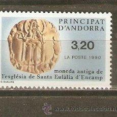 Sellos: ANDORRA FRANCESA YVERT NUM. 397 ** SERIE COMPLETA SIN FIJASELLOS. Lote 45438172