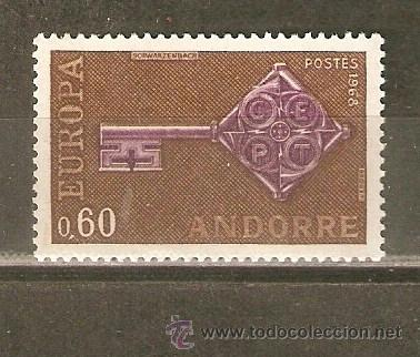 ANDORRA FRANCESA YVERT NUM. 189 ** NUEVO SIN FIJASELLOS (Sellos - Extranjero - Europa - Andorra)