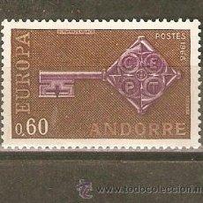 Sellos: ANDORRA FRANCESA YVERT NUM. 189 ** NUEVO SIN FIJASELLOS. Lote 45440264