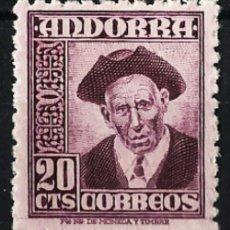 Sellos: ANDORRA Nº 48** - NUEVO - NEW - MNH VALOR CATALOGO 17,00€. Lote 47101388