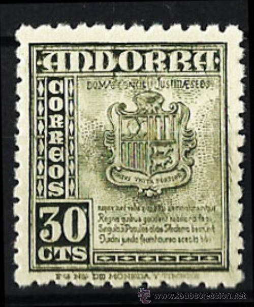 ANDORRA Nº 50** - NUEVO MNH LUJO!! VALOR CATALOGO 18,00€ (Sellos - Extranjero - Europa - Andorra)