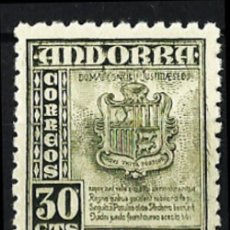Sellos: ANDORRA Nº 50** - NUEVO MNH LUJO!! VALOR CATALOGO 18,00€. Lote 203611308