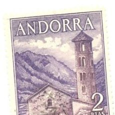 Sellos: 2-ANDE56. SELLO USADO ANDORRA. EDIFIL Nº 56. SANTA COLOMA. Lote 48638199