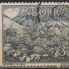 Sellos: ANDORRA Nº 65, ANDORRA LA VIEJA, USADO. Lote 48887997