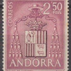 Sellos: ANDORRA Nº 64, ANTIGUO ESCUDO DEL PRINCIPADO, NUEVO ***. Lote 151365406