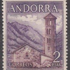 Sellos: ANDORRA Nº 63, IGLESIA DE SANTA COLOMA, NUEVO ***. Lote 52997729