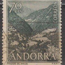 Sellos: ANDORRA Nº 61, PRADOS DE ANYO, USADO. Lote 48888165