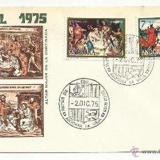 Timbres: SPD ANDORRA 1975 NAVIDAD SERIE COMPLETA. Lote 73328742