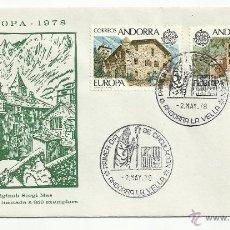 Sellos: SPD ANDORRA 1978 EUROPA. Lote 50261879