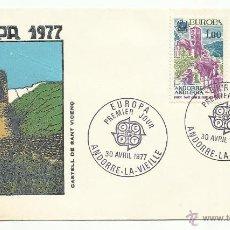 Sellos: SPD 1977 ANDORRA FRANCESA . EUROPA SERIE COMPLETA. Lote 50349420