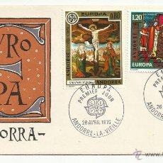 Sellos: SPD 1975 ANDORRA FRANCESA . EUROPA SERIE COMPLETA. Lote 50349919