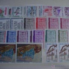 Sellos: ANDORRA FRANCESA AÑO 1983 DOS SERIES NUEVAS SIN CHARNELAS. Lote 50849028